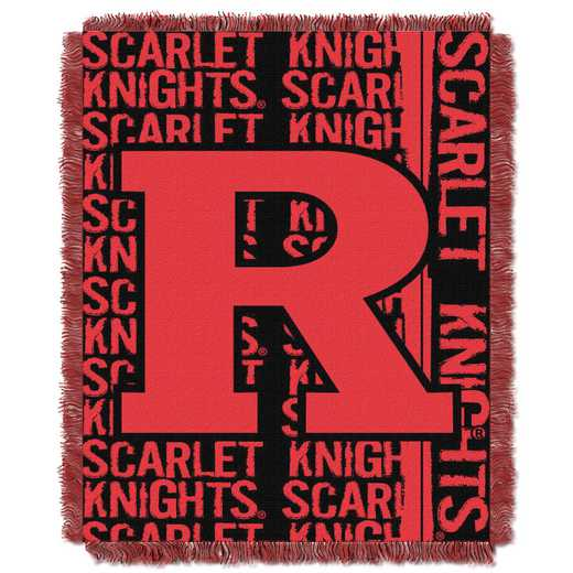1COL019030096RET: NW COL DP Tapestry Throw, Rutgers